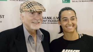 Caroline Garcia Visits Bank of the West