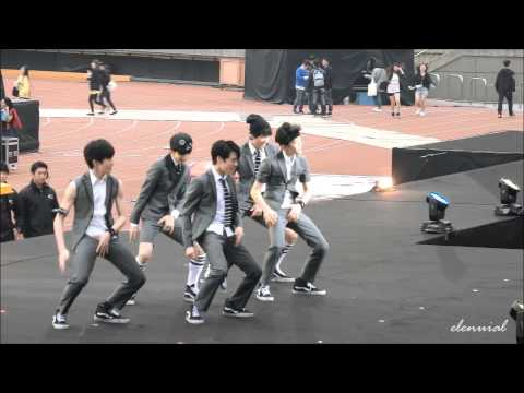 150321 SM Rookies [Dance Intro&Growl] @SMTOWN in Taiwan