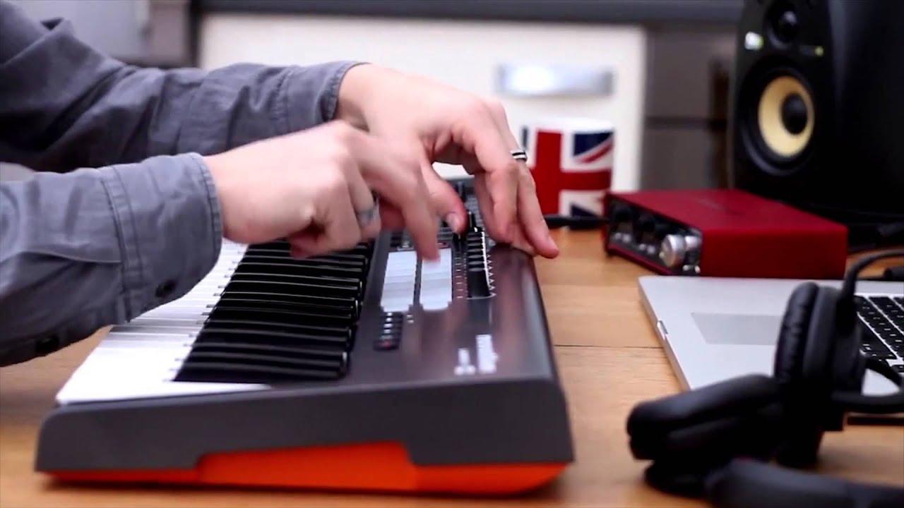 novation launchkey 49 key midi keyboard controller performance full compass youtube. Black Bedroom Furniture Sets. Home Design Ideas