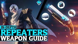 Dauntless Repeaters Guide - DPS Repeaters Gameplay - Weapon Tutorial - Dauntless Patch 0.8.2