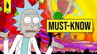 RICK & MORTY's Must-Know References! – Wisecrack Edition