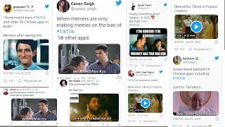 Chinese apps ban: Social media gets flooded with witty Bol..