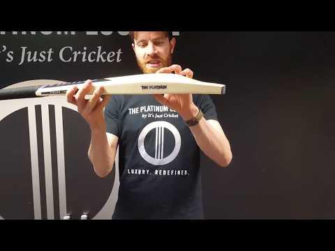 "Viking Cricket ""The Platinum"" Cricket Bat"