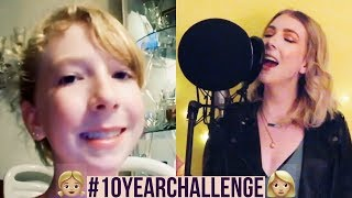My #10yearchallenge | Recreating My First Singing Video
