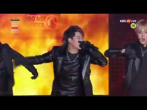 SEOUL MUSIC AWARDS 2016 MONSTA X INTRO+TRESSPASS