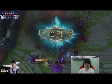 SKT T1 Faker : December 14th, stream highlight [I'm only gonna beat one person up] [ Full Game ]