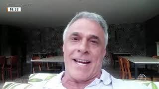 Oscar Magrini, que faz o papel de Nóe, quer te fazer um super convite para assistir a novela Gênesis