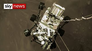 NASA releases video of Perseverance rover's Mars landing