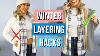 Layering Winter Clothing Hacks YOU Must Know!