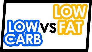 Low-Carb vs Low-Fat Diets for Weight Loss