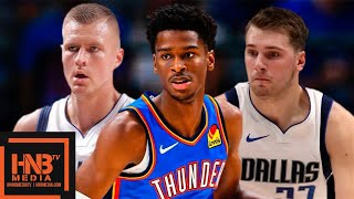 Oklahoma City Thunder vs Dallas Mavericks - Full Game Highlights | October 14, 2019 NBA Preseason