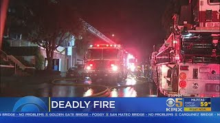 Officials Investigate Fatal Fire In San Francisco's Presidio Heights