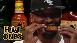 Joe Budden Keeps It Real While Eating Spicy Wings | Hot Ones