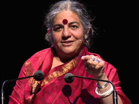 Vandana Shiva - Growth = Poverty | Festival of Dangerous Ideas 2013
