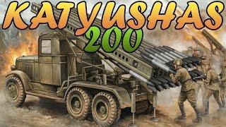 Men of War Assault Squad 2 - 200 KATYUSHA ROCKETS vs GERMAN ARMY ASSAULT - Editor Scenario #48
