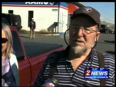KTVN-TV CBS of Reno, NV - Truck Repair Donated to Stagecoach Navy Veteran
