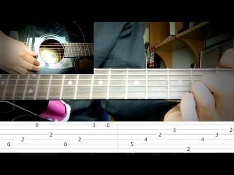 Bertomh tutorial guitarra Inna Sorry // Guitar lesson