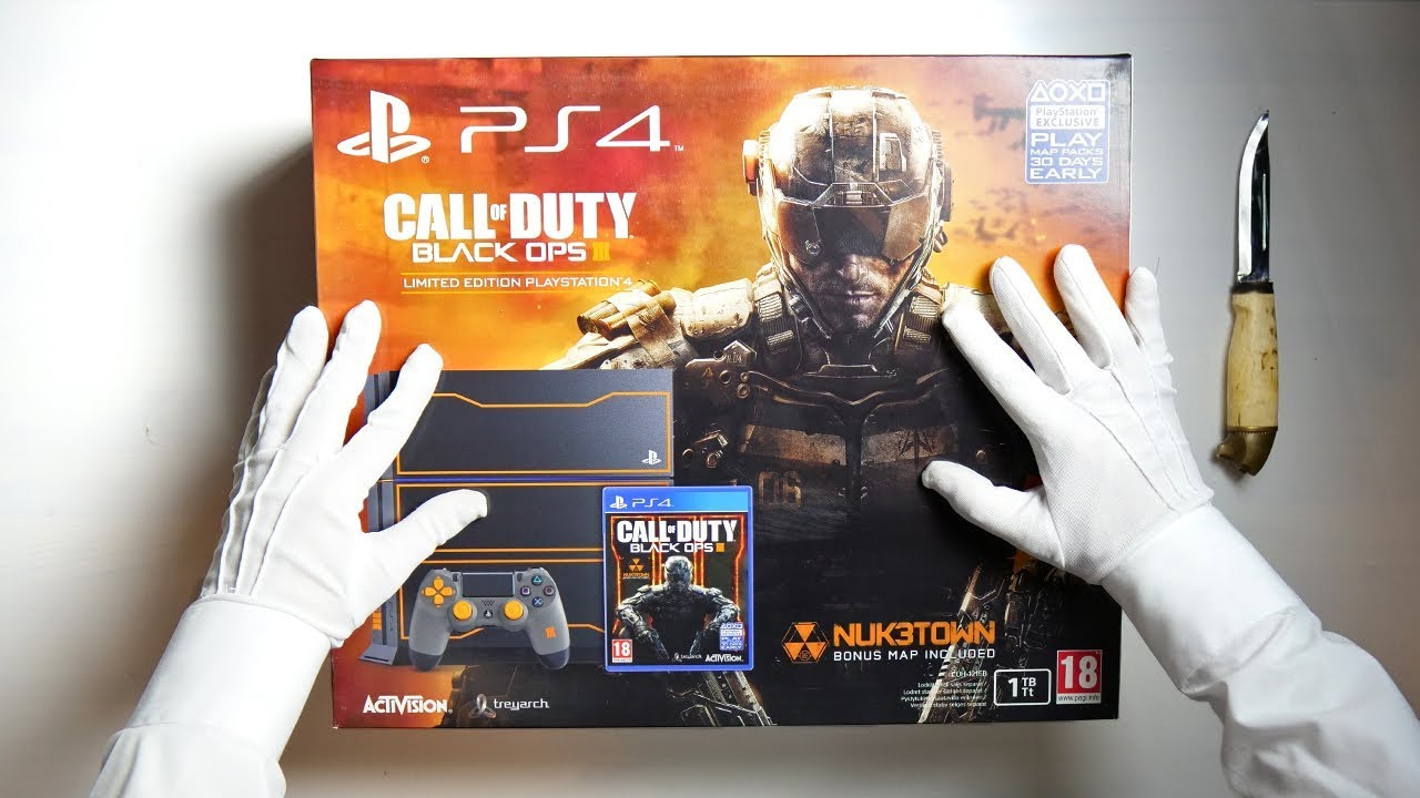 Co Optimus Black Ops 3 Ps4 Console
