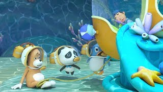Rescue Mr.Dao's Master | The Submarine is Leaking | Baby Panda's Magical Chinese Character | BabyBus