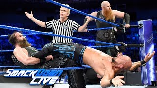 Bludgeon Brothers vs. Gallows & Anderson - SmackDown Tag Title Match: SmackDown LIVE, June 19, 2018