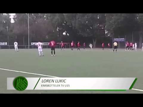 Tor von Loren Lukic (Eimsbütteler TV, U15 C-Jugend) | ELBKICK.TV