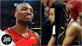 Damian Lillard says Warriors a better matchup for Blazers than Nuggets | BS or Real Talk | The Jump