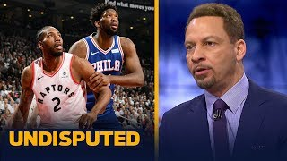 Chris Broussard gives 76ers a 20% chance to win their series against the Raptors | NBA | UNDISPUTED