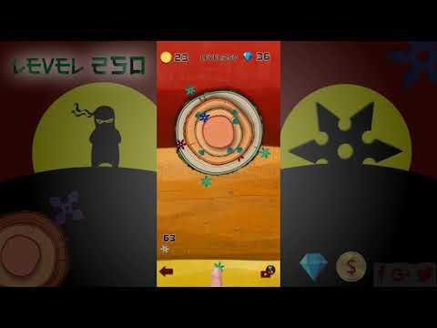 Ninja Games - Ninja Shuriken Throw