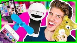 TRYING CRAZY STUPID iPHONE GADGETS!