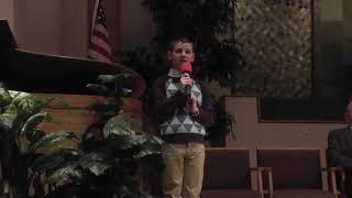 Owen Cowan Special Music Chapel Oaks SDA Church Suffer the children to come to me - YouTube