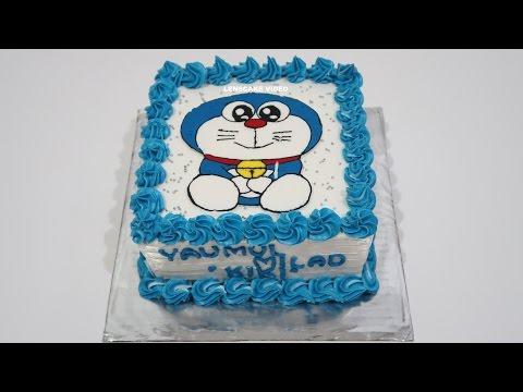 Doraemon Cake How To Make Birthday Cake For Kids Xem