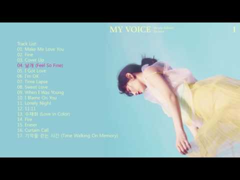 KIM TAEYEON 【MY VOICE】FULL ALBUM 金泰妍 专辑 【我的声音】
