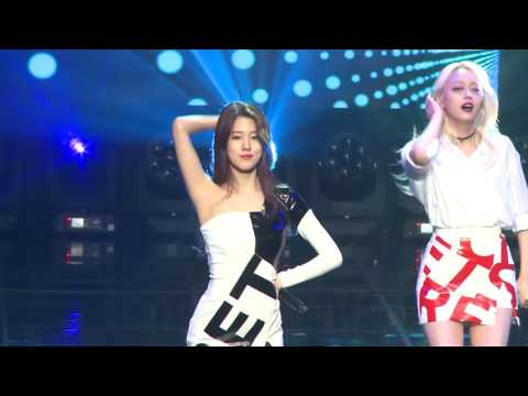 [Fancam] Spica : Yang Jiwon - Tonight, A.M.N Showcase @ DMC Festival 2016