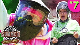 TIE BREAKER PAINTBALL CHALLENGE | Smosh Summer Games: Apocalypse Ep. 7