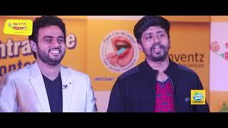 Fun Games I Mirchi Vijay & Sha I Couple Game Show