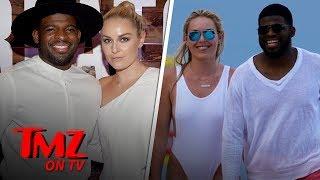 Lindsey Vonn Hits Beach with Boyfriend P.K. Subban in Amazing Bathing Suit | TMZ TV