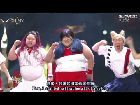 [中字] 吃貨版的TT😂😂 | 歌詞根本是MOMO的心聲😂 | 161224 KBS