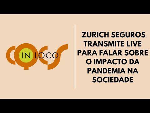 Imagem post: Zurich Seguros transmite Live para falar sobre os impactos da pandemia na sociedade