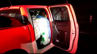 PRF prende contrabandistas transportando quase uma tonelada de agrotóxicos na BR 153 em Bagé