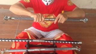 Review | kiếm tuýp ngậm ngọc |  Shop võ thuật lân sư rồng Hà Nội