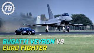 Top Gear : Bugatti Veyron vs Euro Fighter - Top Gear - BBC