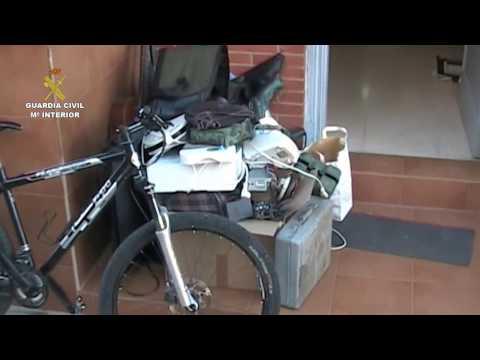 La Guardia Civil desarticula un grupo organizado especializado en robos en la comarca de Puertollano