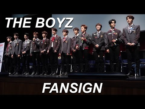THE BOYZ 더보이즈 FANSIGN EXPERIENCE #2 (ERIC WATCHES THESE VIDEOS)