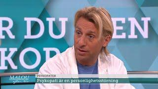 Så känner du igen en psykopat - Malou Efter tio (TV4)