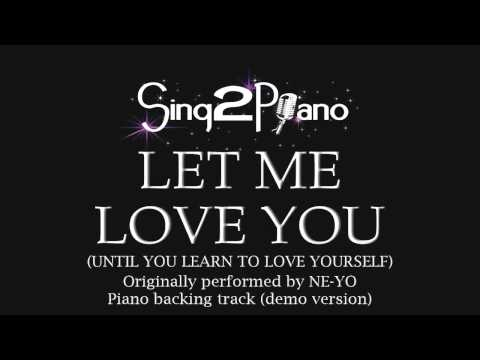 Baixar Let Me Love You - Ne-Yo (Piano backing track)