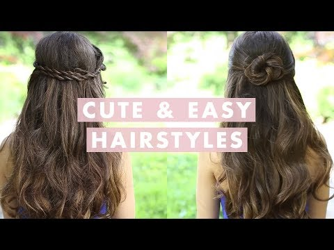 Easy, Cute Hairstyles By LuxyHair