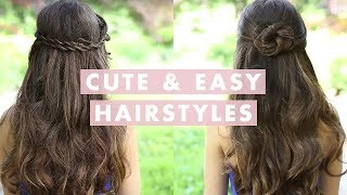 Cute and Easy Hairstyles, hairstyle, easy, cute, everyday, hair