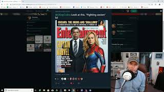 Captain Marvel - Brie Larson Thinks Smiling Is Sexist! Respect Wamen!