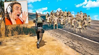 IMPOSSIBLE 1 vs. 99 PUBG CHALLENGE! (PlayerUnknown's BattleGrounds Funny Moments)