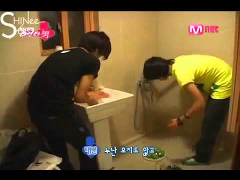 SHINee Reality Show Episode 6 Part 1  3 20080903 English Subtitles